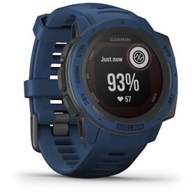 Garmin Instinct Solar GPS Smartwatch, azul